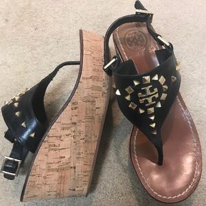 Tory Burch wedge sandal